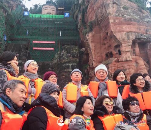 乐山迎来新年首批韩国旅行商踩线团