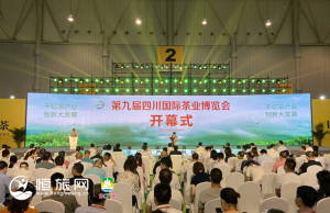 四川茶博会开幕 首次规模化融合展示我省优势产业